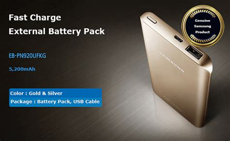 Power Bank Fast Charging Samsung genuine samsung portable fast charge external usb battery pack power bank ebay