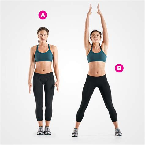 Swing Your Arms From Side To Side by Up Your Metabolism With These 4 Minute Workouts