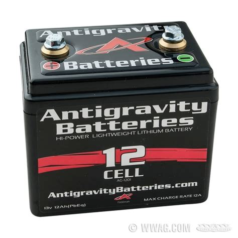 Motorrad Batterie Mini by W W Cycles Elektrik Gt 12 V Antigravity Small