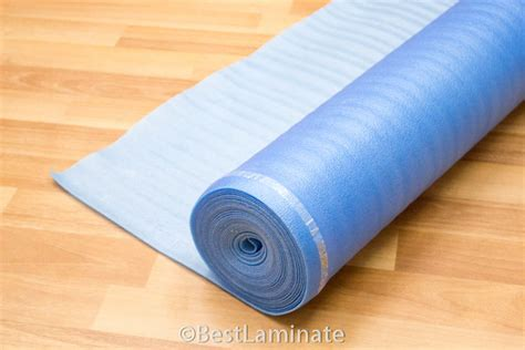 Laminate Roll Flooring Laminate Floor Padding For Your House The Quietest