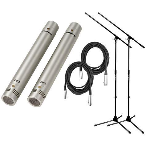Samson C02 Pencil Condenser Microphones samson c02 pencil condenser microphone pair w 2