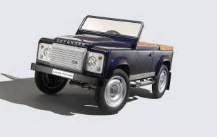 land rover new car 2016 new land rover defender pedal car concept garage car