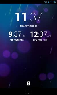 best android world clock get a world clock on your android 4 2 lock screen