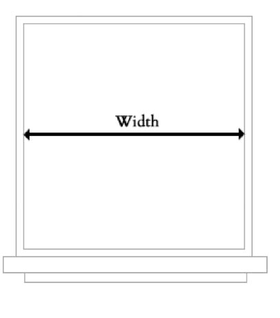 How Wide Is A by Math Dictionary Width