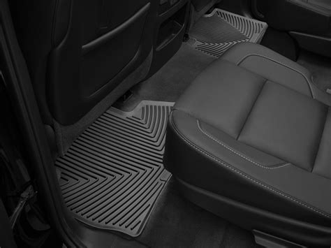floor liner weathertech cadillac escalade 2nd row fineline custom auto