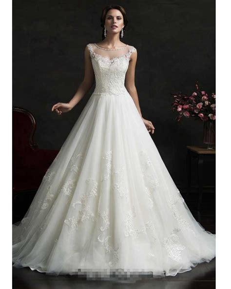 vestido de noiva vintage lace cinderella wedding dress gown princess wedding dresses