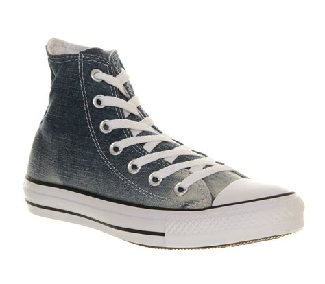 faded shoes mens converse converse all hi faded ombre denim