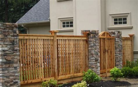 fence designs pictures and ideas