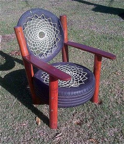 How To Make A Tire Chair by 25 Best Ideas About Tire Chairs On Tyre