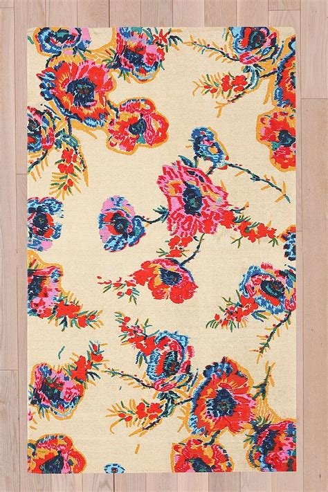 urbanoutfitters rug floral 3x5 rug outfitters attic renovations