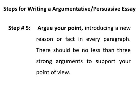 Steps To Write A Persuasive Essay by Steps To Write A Persuasive Essay
