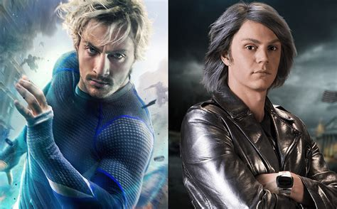quicksilver in film quicksilver vs quicksilver how avengers and x men