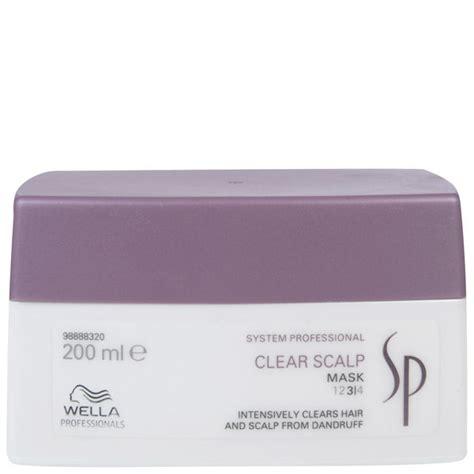 Wella Sp Sho Clear Scalp wella sp clear scalp mask 200ml free shipping lookfantastic