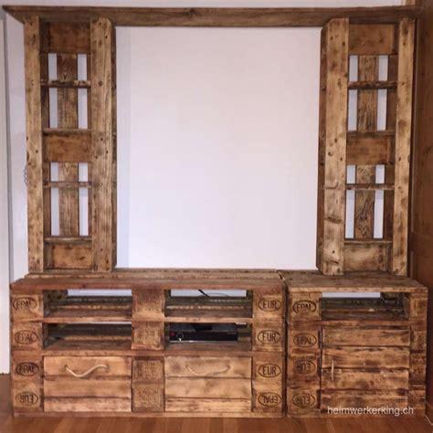 möbel aus paletten selber bauen wohnzimmerschrank aus weinkisten m 246 bel inspiration und
