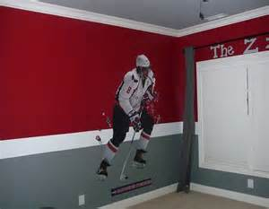 Toddler Hockey Bedroom I Like These Colors For A Boys Room Mateo Bedroom
