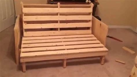 How To Assemble A Futon Frame by Futon Bed Frame