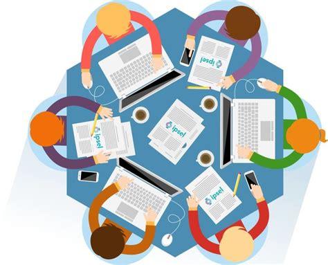 imagenes de grupos virtuales finguru de trabajar en equipo al trabajo colaborativo