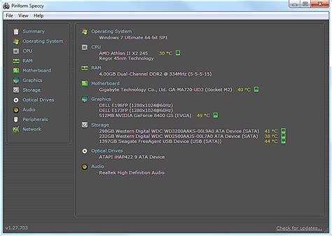 27 revision v1 speccy v1 31 732 review a free sysinfo tool