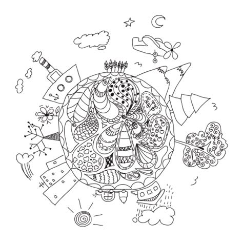 clean earth coloring pages clean earth coloring pages