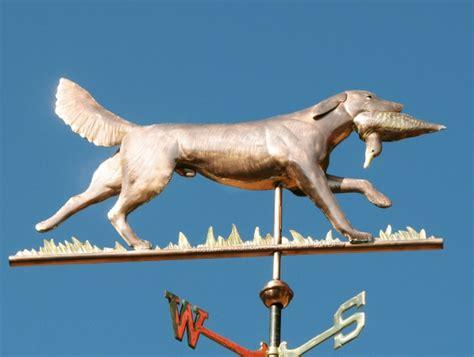 golden retriever weathervane weathervane golden retriever field running with duck west coast weathervanes