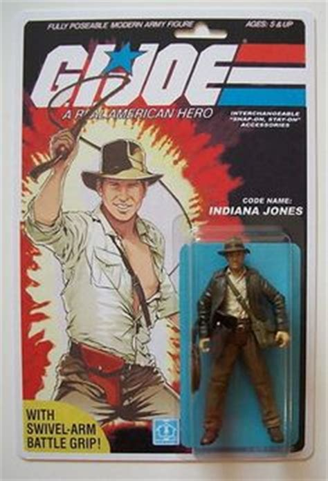 Kaos Indiana Jones g i joe figure chuck norris popsfartberger cool and
