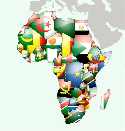 african countries flags maps of african continent countries capitals and flags