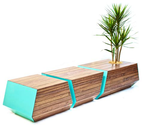 contemporary outdoor benches boxcar bench contemporary outdoor benches by
