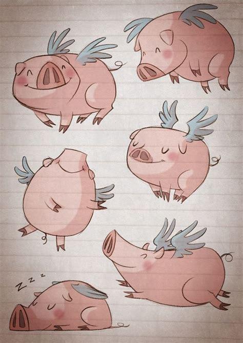 5860d4d72aa1b8557c81cb7c2aa3c987.jpg (557×787 ... Flying Pig Drawing