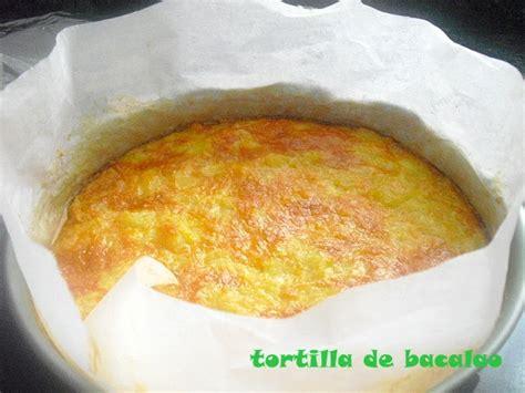 las recetas de mi las recetas de mi abuela tortilla de bacalao con salsa de queso