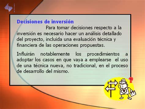 que hacer para desarrollar 1496064674 decisiones de inversi 243 n i monografias com