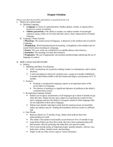 Book Chapter Outline Template by Textbook Chapter Outline Template