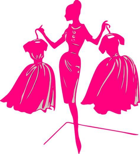 pink dress clip at clker vector clip