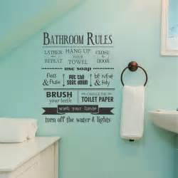 wall stickers for the bathroom bathroom rules wall quotes decal wallquotes com