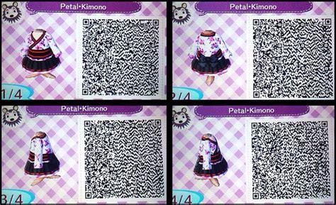 kimono pattern animal crossing petal kimono qr code for acnl game stuff pinterest