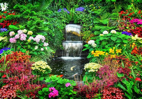Pictures Flower Gardens Tips For Designing A Successful Flower Garden The Soothing