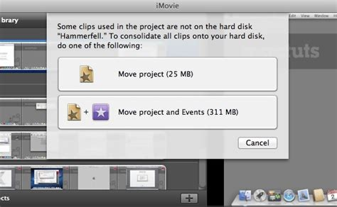 imovie tutorial quick quick tip move your imovie events and projects to an