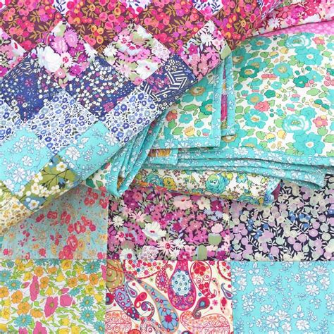 Coverlet Fabric Quilt Sos Pack Liberty Tana Lawn Fabric Choose Your Own
