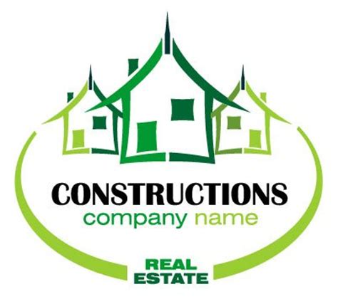 real estate company logo vector graphic clipart me
