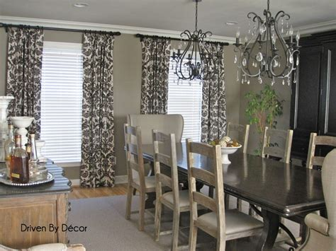 Curtains Dining Room Ideas Furniture Dining Room Curtains Remodelling Rustic Design Custom Made Gray Dining Room
