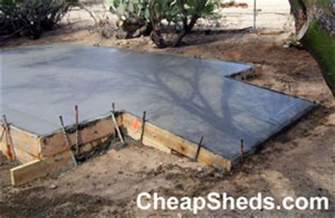Shed Concrete Slab Thickness by Learn To Build Shed Archive How To Build A Shed On A