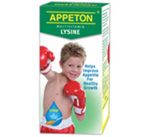 Appeton Weight Child appeton health for