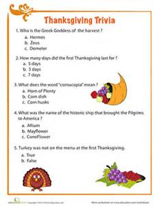facts for thanksgiving thanksgiving facts worksheet education com