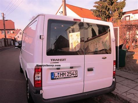 Ford Tansit Tourneo 2008 Box Type Delivery Van Photo And