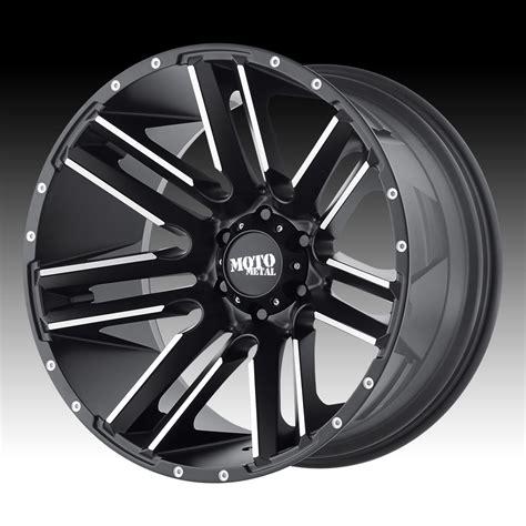motto wheels moto metal mo978 razor black machined custom wheels rims
