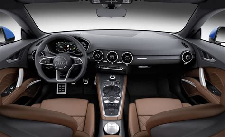 Audi Tt Interior by 2016 Audi Tt Tts First Drive Photo Gallery Motor Trend