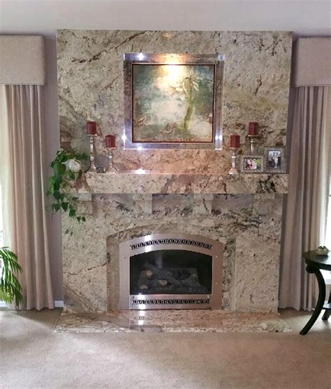 Granite For Fireplace by Custom Fireplace Facades Mantles Hearths In Granite