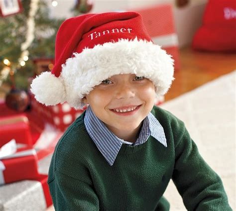 pottery barn kids personalized santa hat 7 shipped my