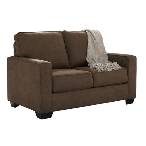ashley zeb sofa sleeper ashley zeb twin sleeper sofa in espresso 3590337