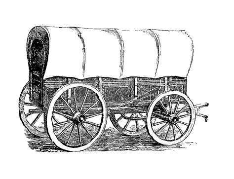 mobile pencil of old wagons coloring pages
