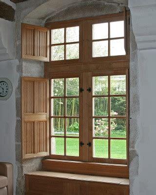 Volets Int Rieurs Bois 2681 by L Atelier De Fabrication De Boiseries Les Ateliers De La